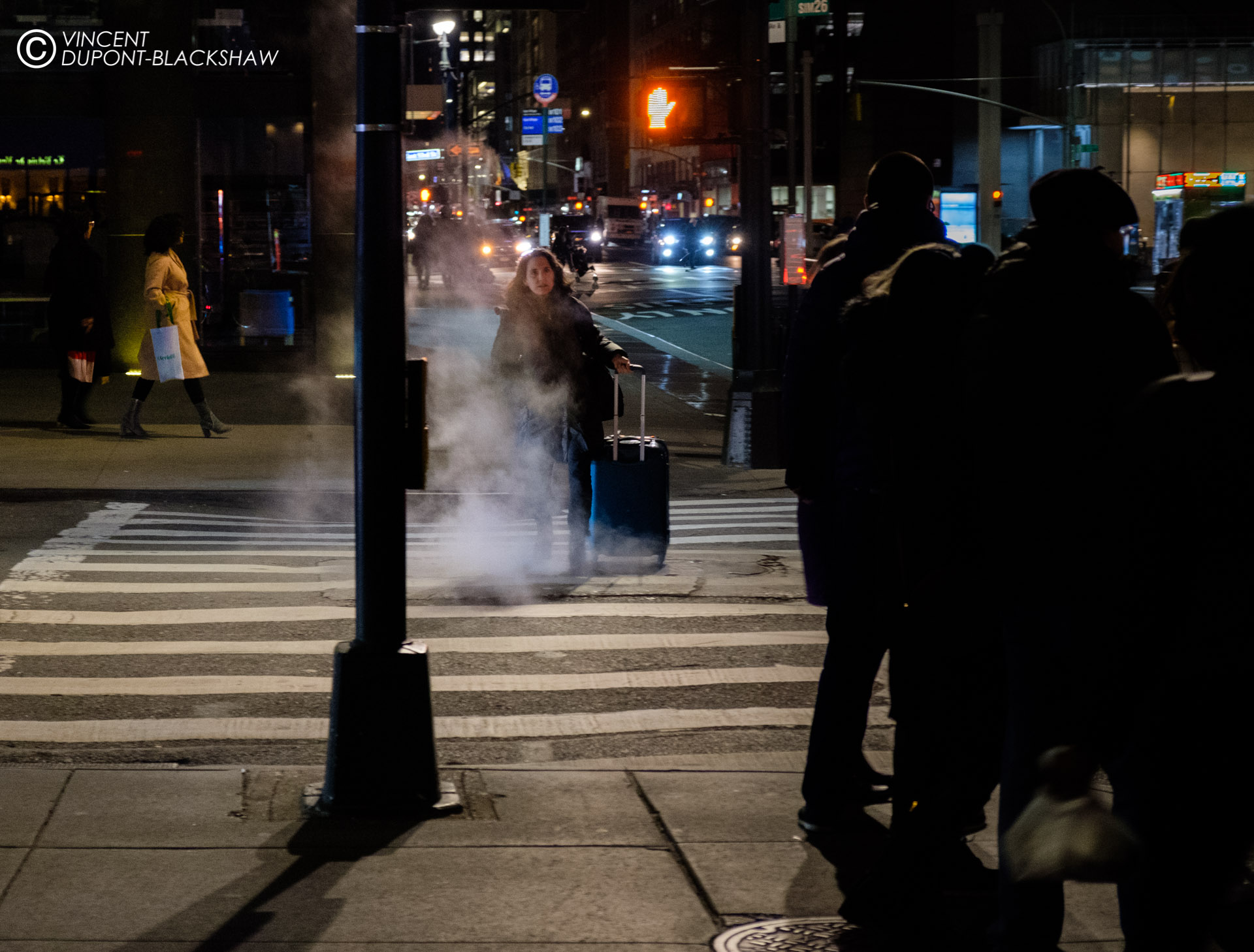 Heading Home  ///  Sample of a daily nightlife in New York